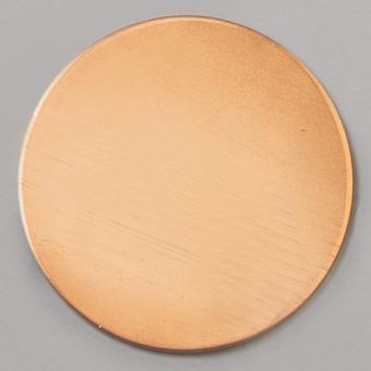 Efco Kupferplatine rund ø 28 mm