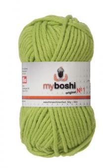 Myboshi original No. 1, limettengrün Garn 50g