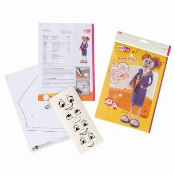 Efco Fofucha Shopping Girl Anleitung mit Schnittmuster 29,7 x 21 cm