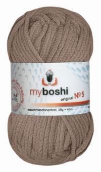 Myboshi Wolle No. 5, 25g ocker 572