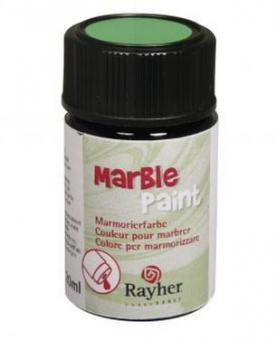 Rayher Marble Paint, weiß, Marmorierfarbe, Glas 20ml