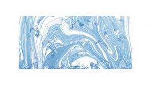 Rayher Marble Paint, hellblau, Marmorierfarbe, Glas 20ml