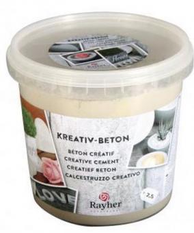 Rayher Kreativ-Beton, Eimer 2,5kg