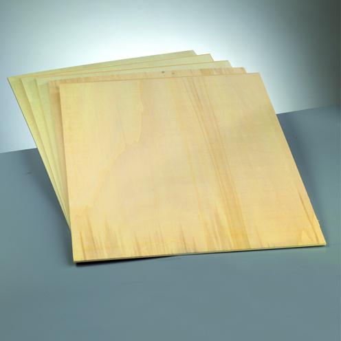 Efco Sperrholzplatte Pappel ~3,5 mm / A3 420 x 297 mm