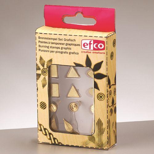 Efco Brennstempel für 1840001 Grafisch 12 - teilig, sortiert ~ 12