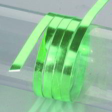Efco Aludraht eloxiert flach 1 x 5 mm grasgrün
