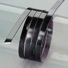 Efco Aludraht eloxiert flach 1 x 5 mm schwarz