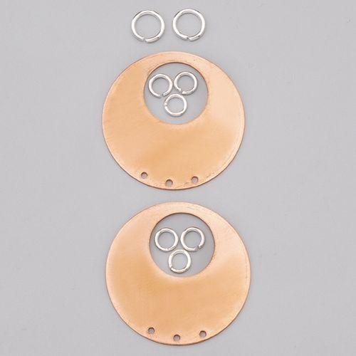 Efco Hänger rund 3-Loch, mit 8 Ösen ø 42 mm