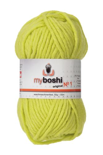 Myboshi original No. 1, avocado Garn 50g