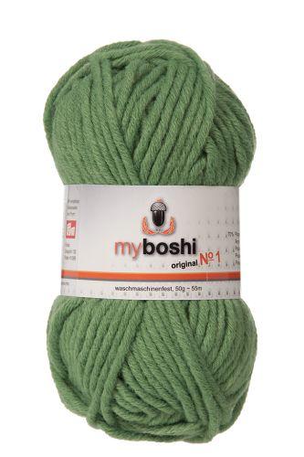 Myboshi original No. 1, grasgrün Garn 50g