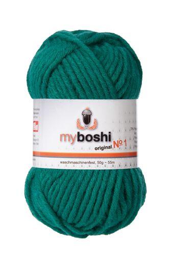 Myboshi original No. 1, smaragd Garn 50g