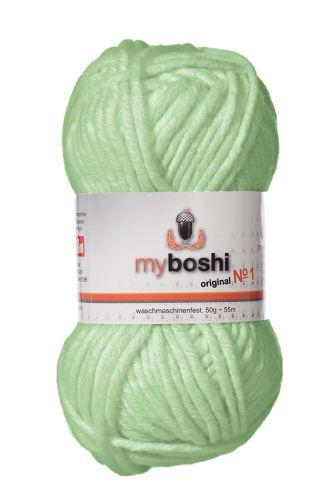 Myboshi original No. 1, minze Garn 50g