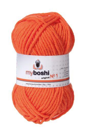 Myboshi original No. 1, orange Garn 50g