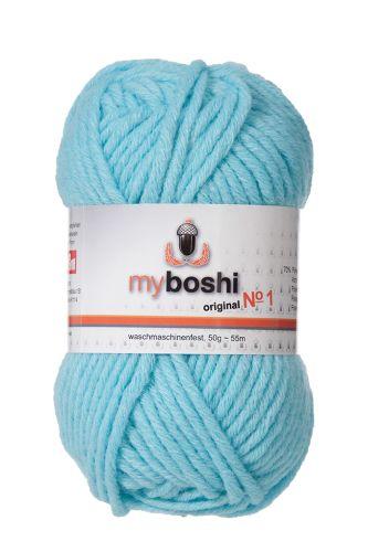 Myboshi original No. 1, himmelblau Garn 50g