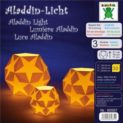 Efco Bastel-Set mit Anleitung Aladdin-Licht 10 x 10 / 15 x 15 / 20