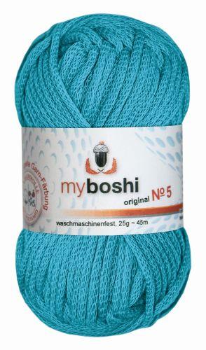 Myboshi Wolle No. 5, 25g türkis 552