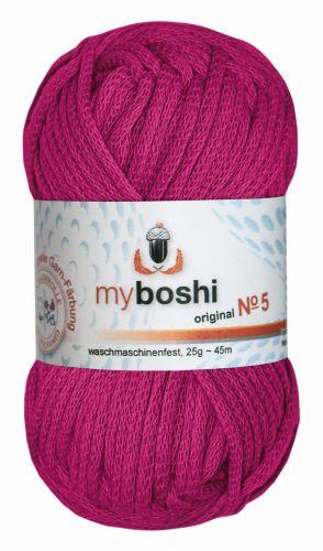 Myboshi Wolle No. 5, 25g magenta 562