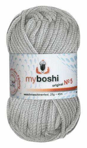 Myboshi Wolle No. 5, 25g silber 593