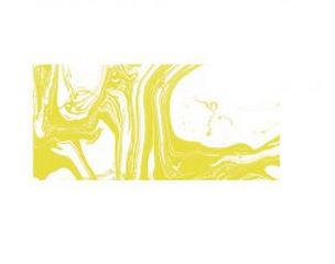 Rayher Marble Paint, zitrone, Marmorierfarbe, Glas 20ml