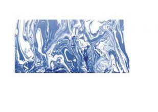 Rayher Marble Paint, royalblau, Marmorierfarbe, Glas 20ml