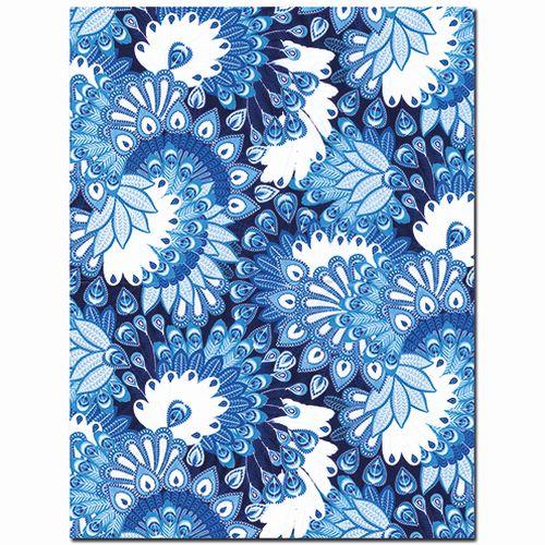 Efco Blatt décopatch® ref. 579 30 x 40 cm 20 g/m² blau