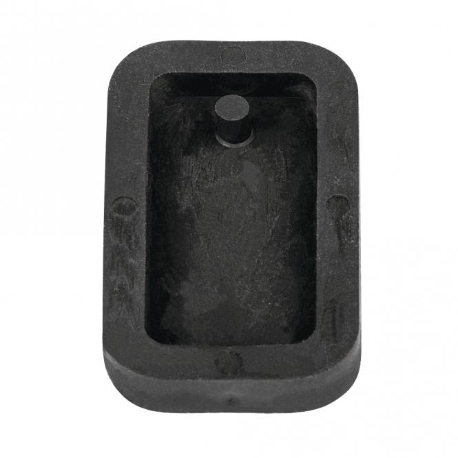 Rayher Gießform: Anhänger Rechteck, 1,9x3,9cm, SB-Btl 1Stück