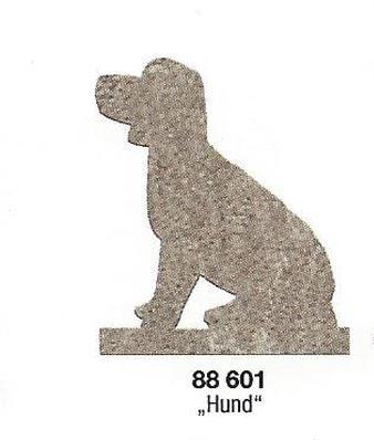 Betonform Gießform Hund inkl Zubehör