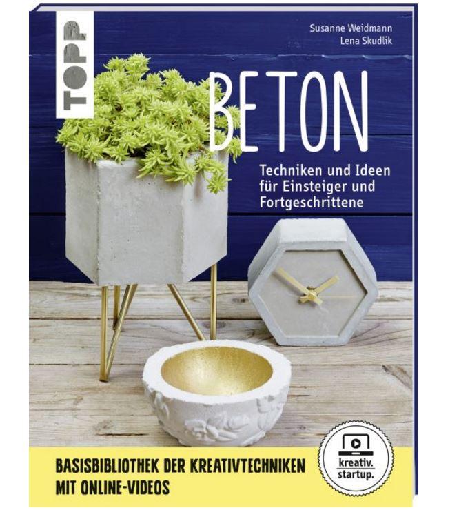 basteltrends buch beton bastelartikel. Black Bedroom Furniture Sets. Home Design Ideas